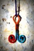 Színes csigabiga... colorful duble spiral