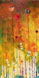 Golden forest – 25x50 cm