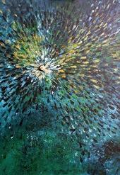 Peacock – 58x75 cm