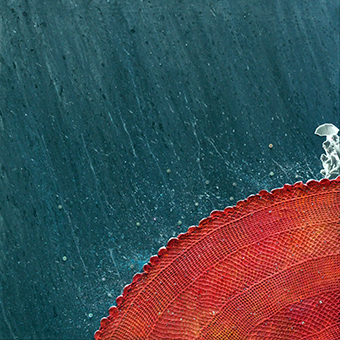 Rain – 58x58 cm